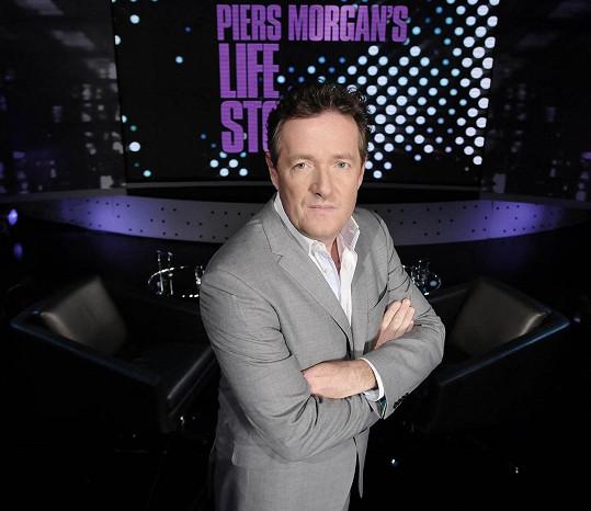 Piers Morgan čelí drsným výhrůžkám.