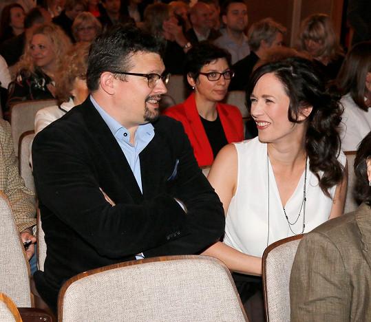 Tereza se svým manželem Jakubem Nvotou
