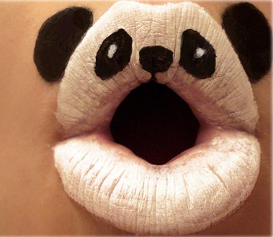 Rty jako panda