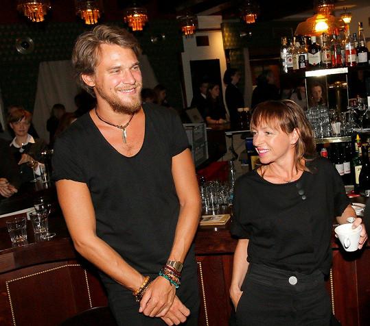 Tatiana Vilhelmová a Vojta Dyk vypadali spokojeně.