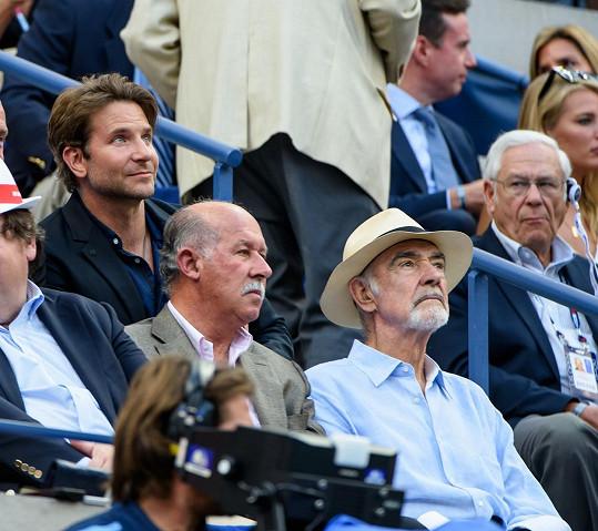 Přítomen byl i Bradley Cooper.