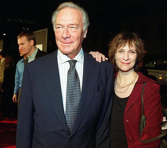 Plummer se svou dcerou Amandou, která se také věnuje herectví.
