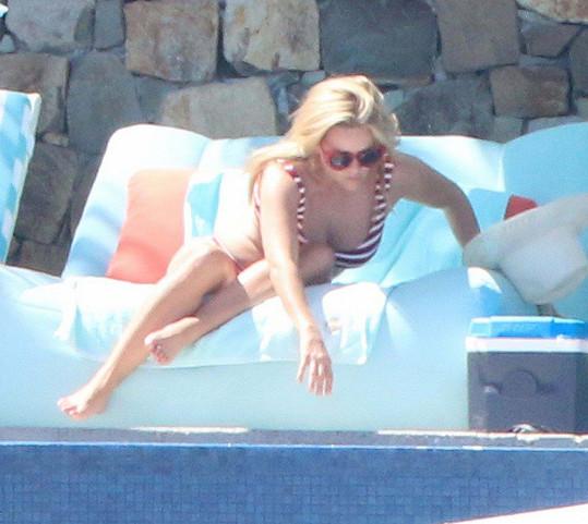 Reese Witherspoon na dovolené v Mexiku