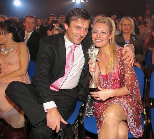 Lucie Borhyová chodila s Alanem Babickým devět let.