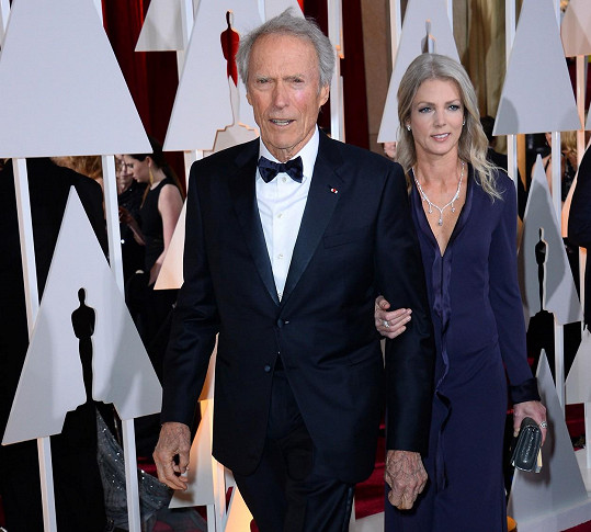 Clint Eastwood a Christina Sandera