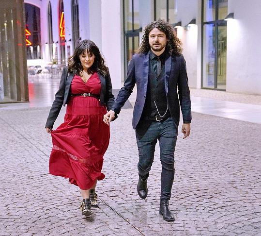 S manželem Martinem Chobotem
