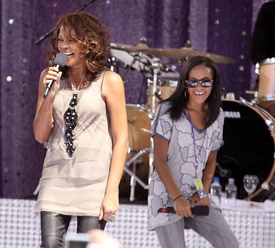 Tento snímek vznikl dva a půl roku před smrtí Whitney Houston.
