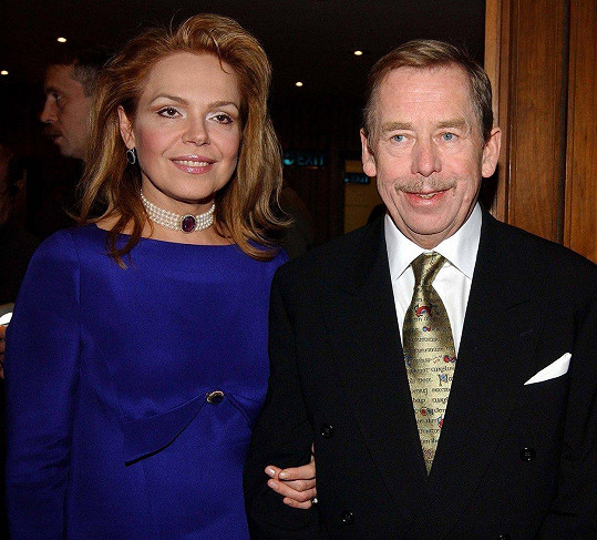 S manželem Václavem Havlem