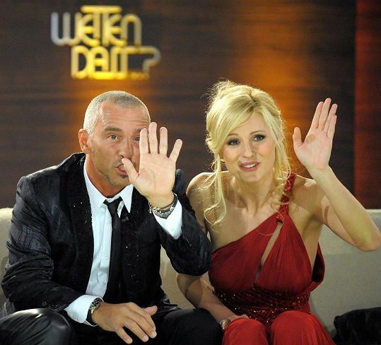 Hunziker s exmanželem Erosem Ramazzottim