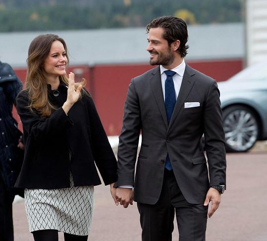 Princ Karel Filip a jeho žena Sofia