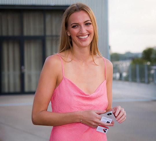 Petra Kvitová pózovala před prvním turnajem sezony v australském Brisbane.