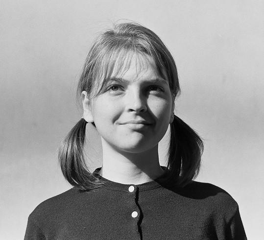 Zuzana Cigánová byla i v mládí velmi půvabná.