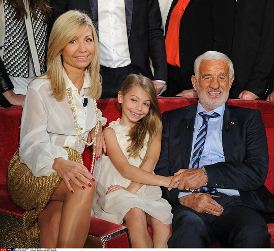 Stella Belmondo s matkou Natty a Jeanem-Paulem.