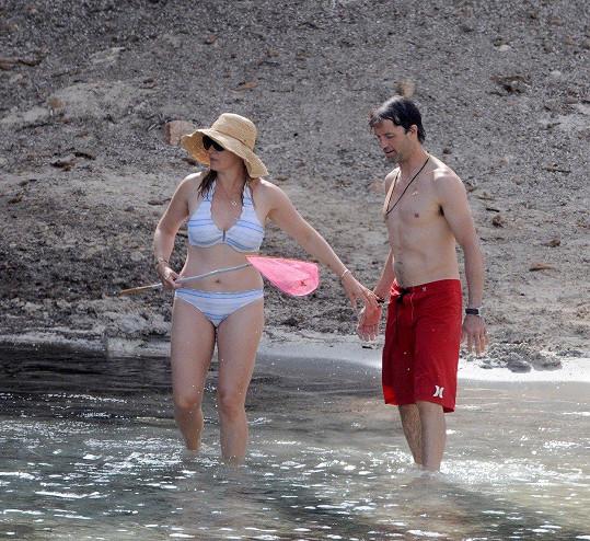 S manželem vyrazili na ostrov Menorca.