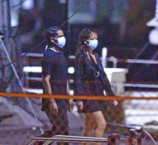 Rihanna a A$AP Rocky trávili svátky na Barbadosu.