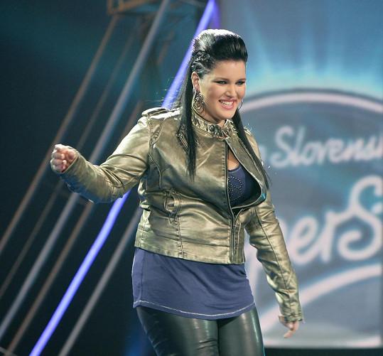 Diváci si černovlasou rockerku se zlatem v hrdle pamatují z první řady Česko Slovenské SuperStar 2009.