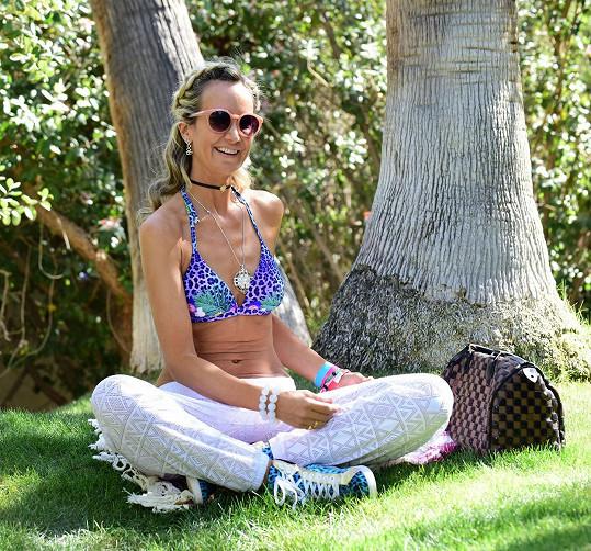 Victoria Hervey nechyběla na slavném festivalu v údolí Coachella v Kalifornii.