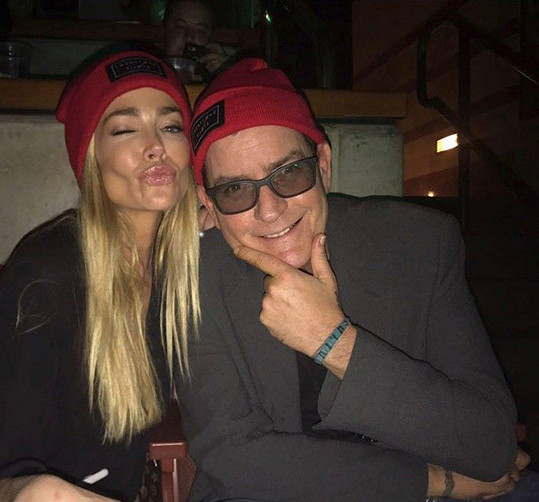 S bývalou manželkou Denise Richards.