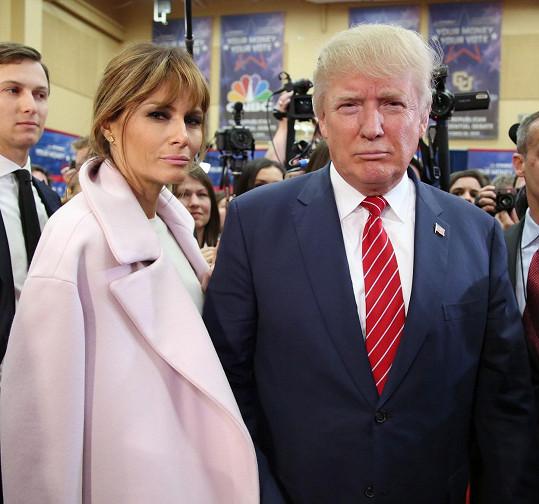 Donald Trump s manželkou Melaniou