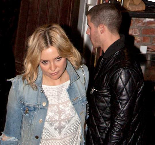 Kate Hudson a Nick Jonas