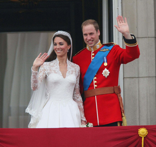 Kate a William se vzali v roce 2011.