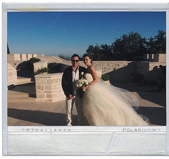 Svatební snímek z letošního července