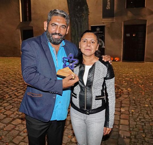 Zdeněk Godla s manželkou Janou