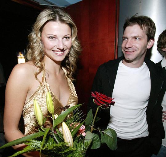 Ondrej Kovaľ s Pamelou z Účastníků Jitkou Kocurovou v roce 2006