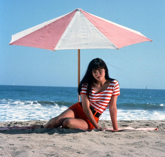 Shannen Doherty jako Brenda v seriálu Beverly Hills 90210