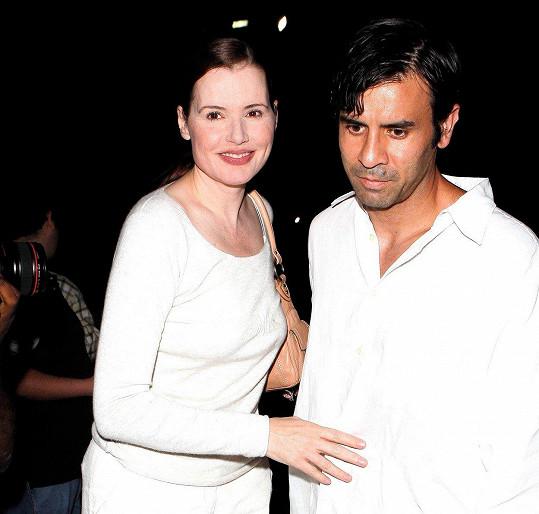 Geena a Reza se rozcházejí po 17 letech manželství.