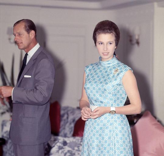 Princ Philip a princezna Anne (70. léta)