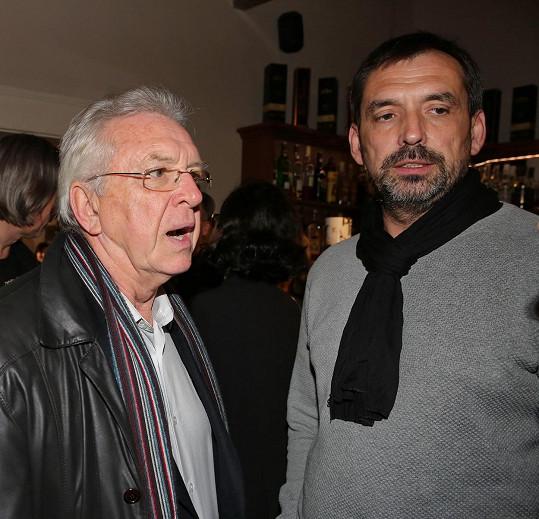 Jaromír Hanzlík se pochlubil synem.