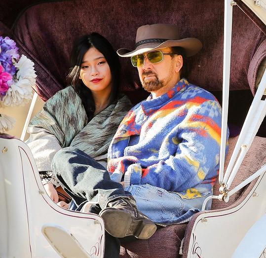 Vzali se v únoru v Las Vegas.
