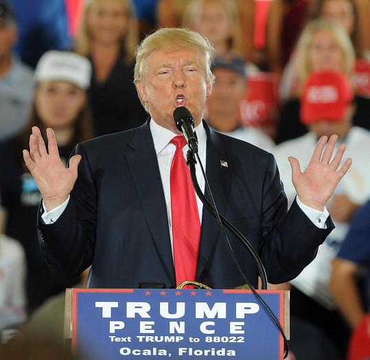 Trumpovi se podobná prohlášení během prezidentské kampaně nehodí do krámu...