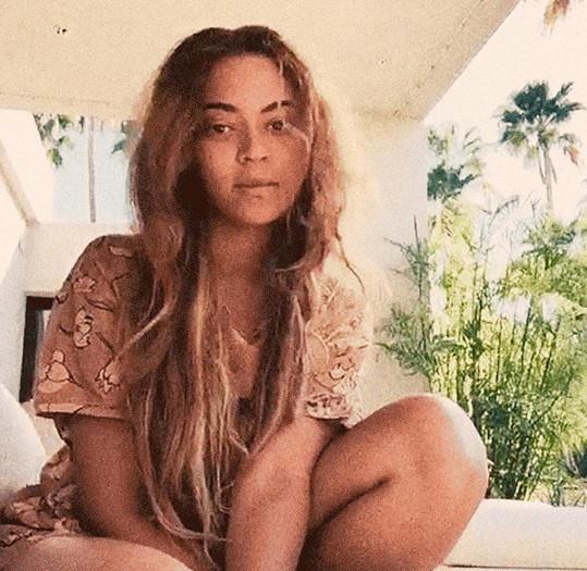 Beyoncé ukázala přirozenou tvář.