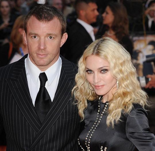 Guy Ritchie s exmanželkou Madonnou