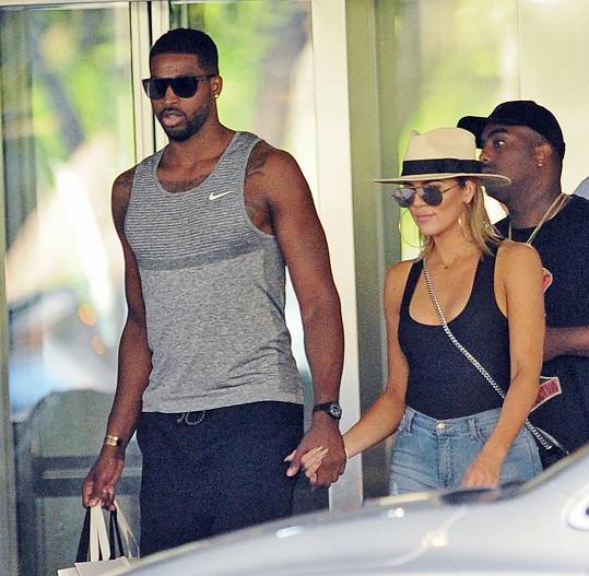 Tristan Thompson a Khloé Kardashian