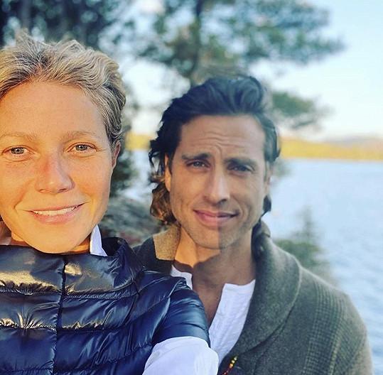Paltrow už je dva roky vdaná za Brada Falchuka.
