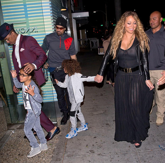 Rodinná idylka Mariah Carey
