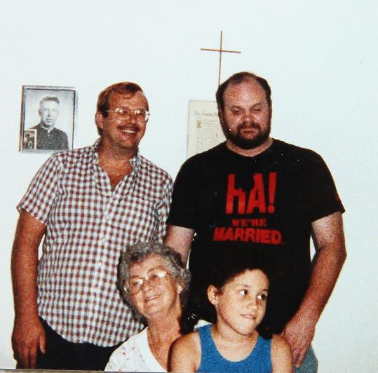Z rodinného archivu Meghan Markle...