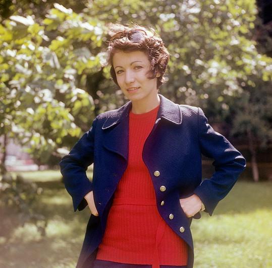 Hana Maciuchová na snímku z mládí.