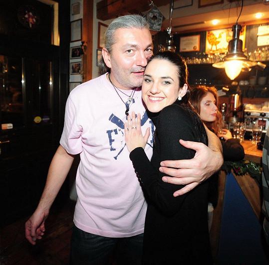 Libuška Vojtková a Daniel Hůlka
