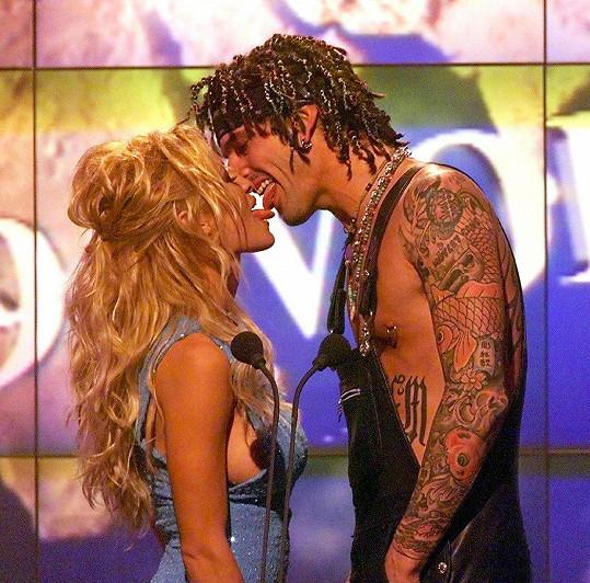 Pamela Anderson a Tommy Lee měli bouřlivý vztah.