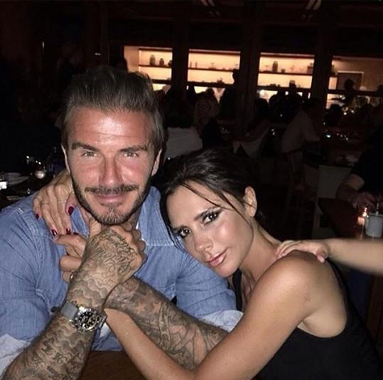 David s Victorií Beckham