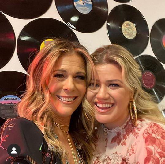 Rita Wilson a Kelly Clarkson