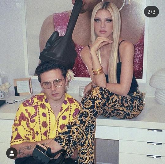 Nicola Peltz a Brooklyn Beckham nafotili další sérii snímků.