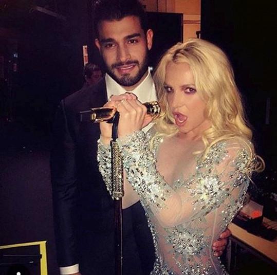 Britney Spears s přítelem Samem Asgharem