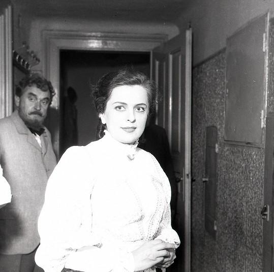 Vlasta Matulová byla aktivní především v divadle.