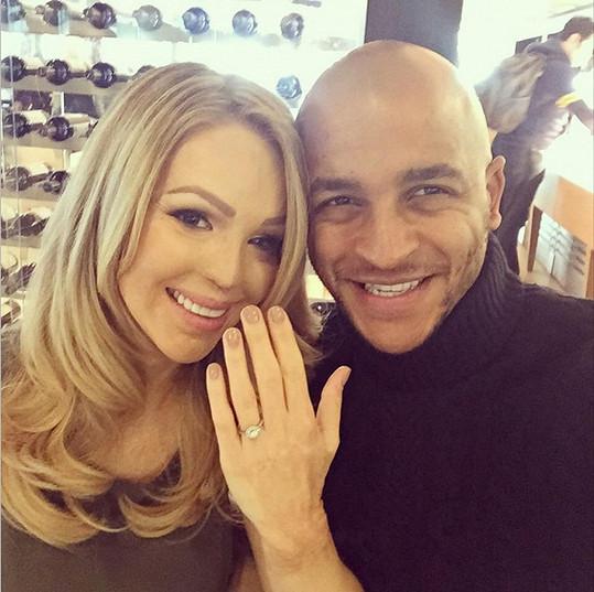 Katie Piper se dočkala snubního prstýnku.