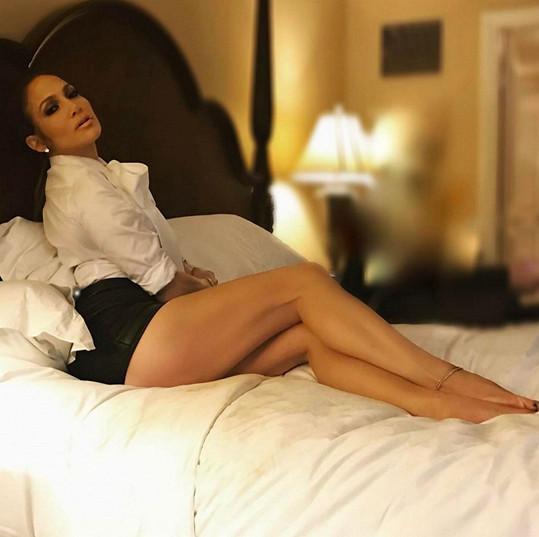 20.2.2017: Herečka a zpěvačka Jennifer Lopez